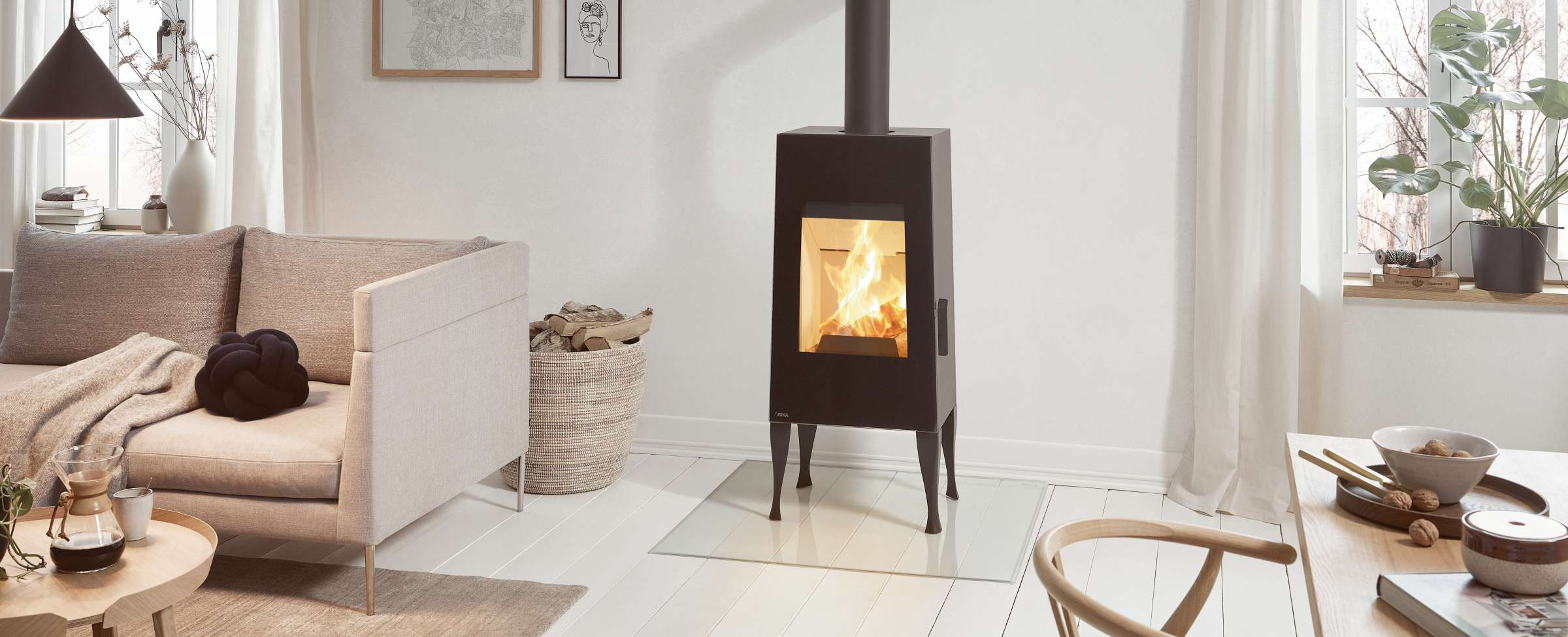 Wood burning stoves - RIKA